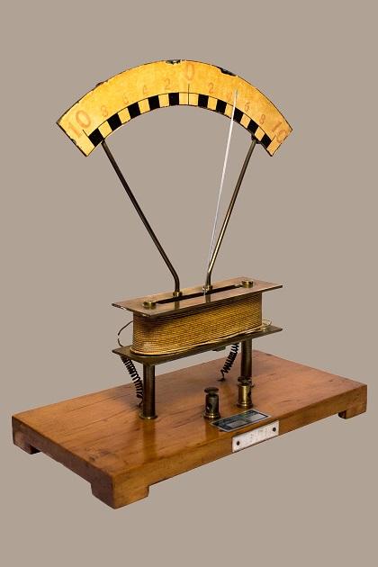 Galvanometro verticale