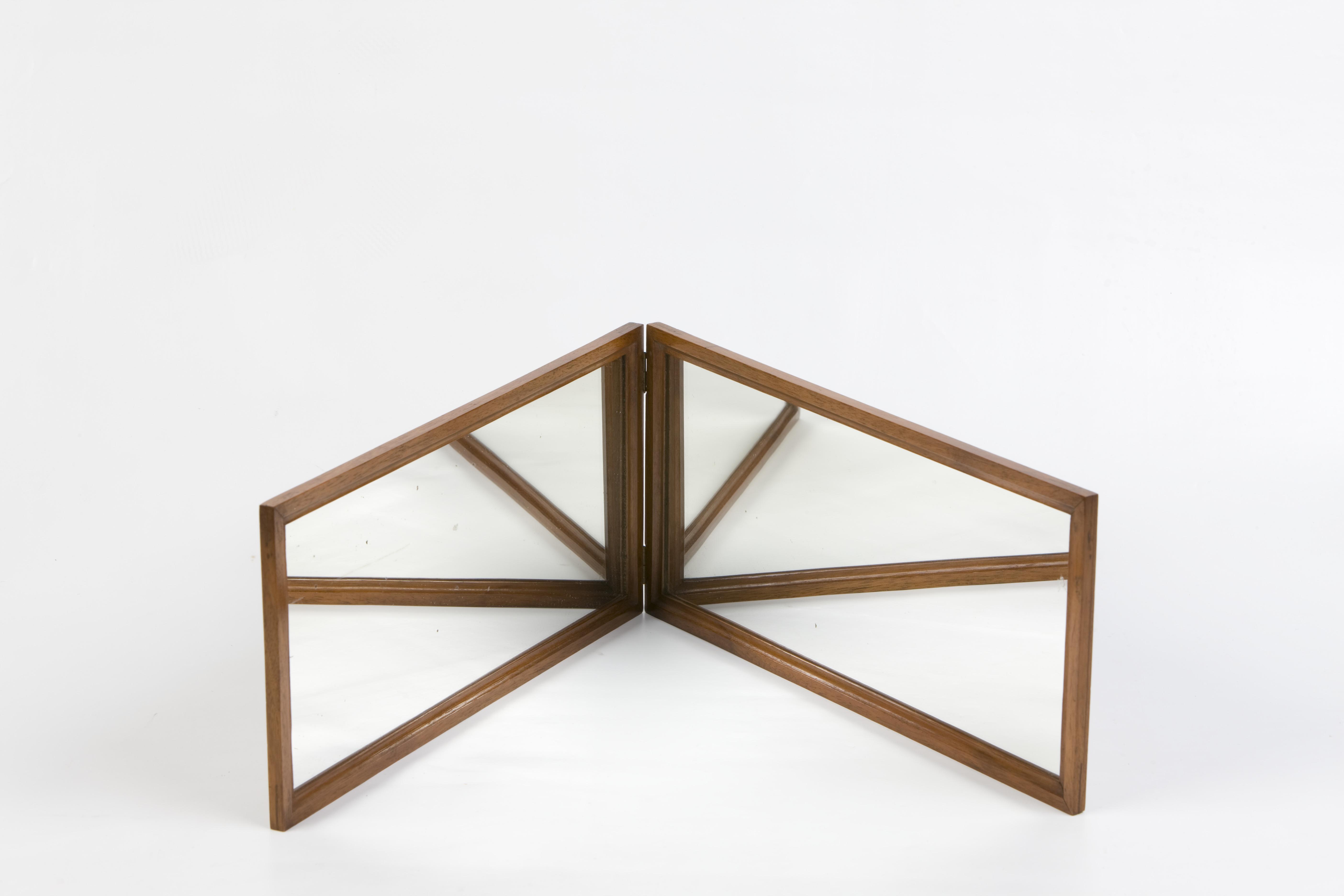 4- Coppia di specchi piani ad angolo variabile