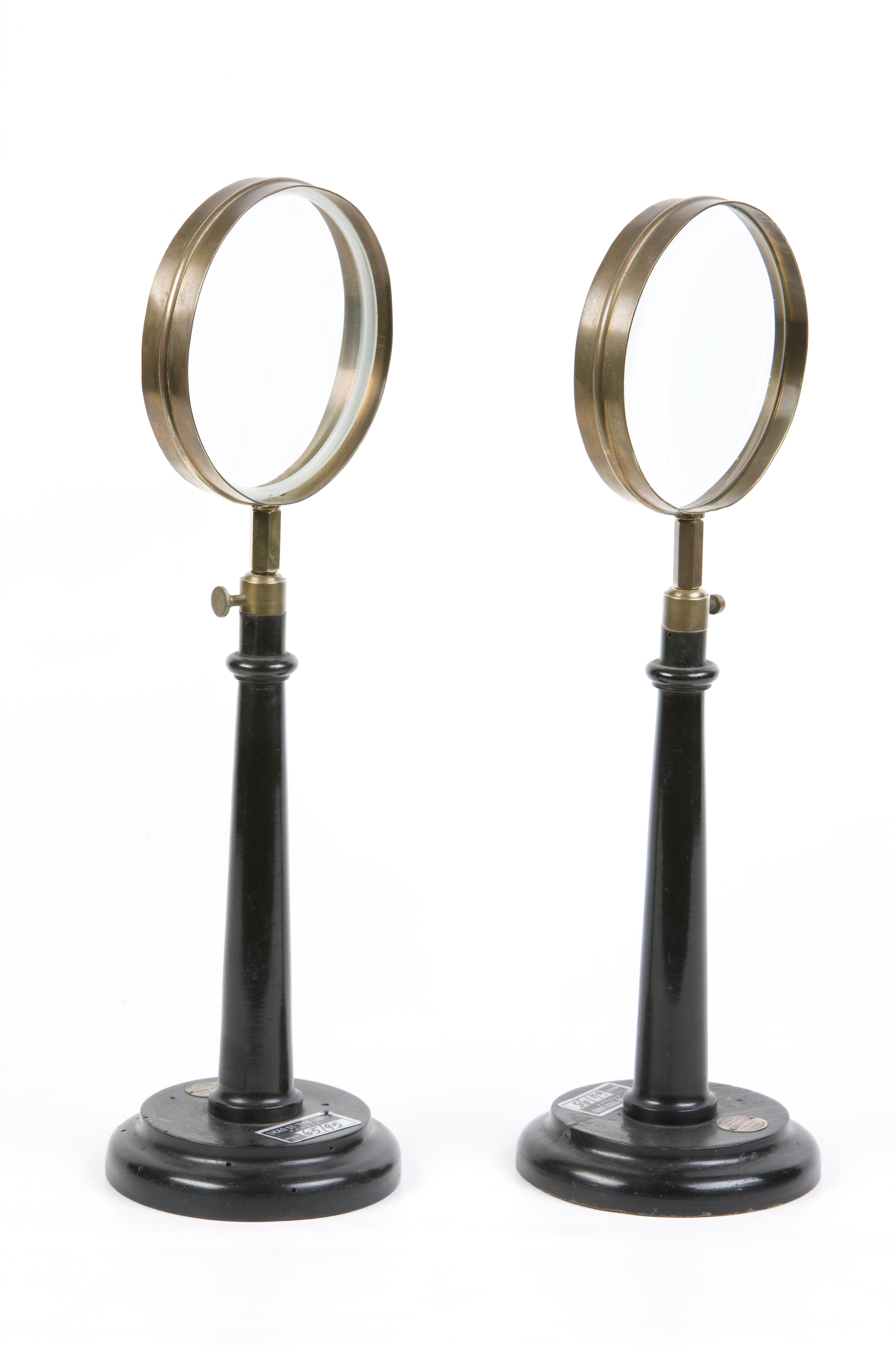 6- Due lenti, di cui una biconcava e  una biconvessa
