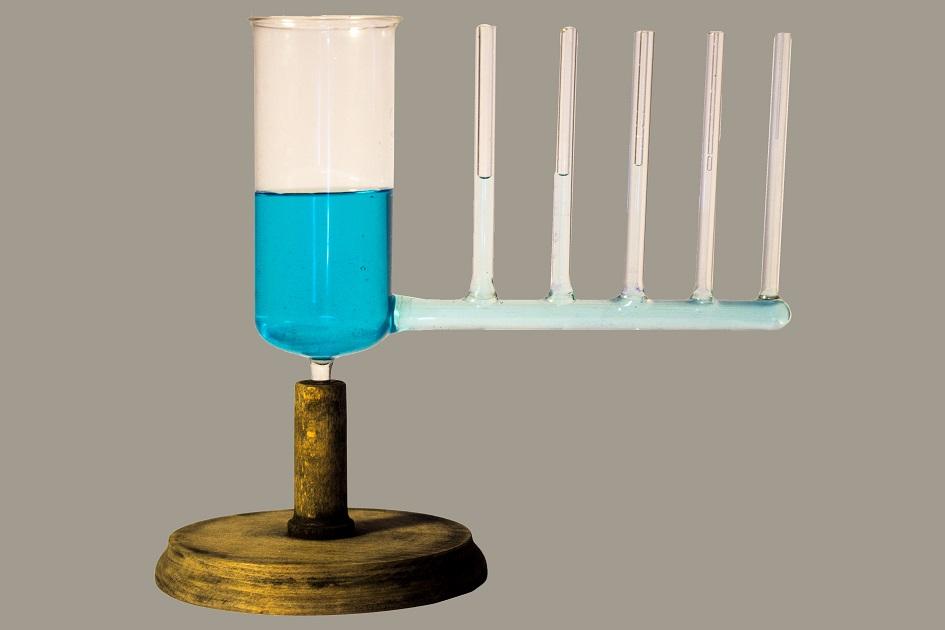 Apparato per lo studio del fenomeno della capillarità e dei vasi comunicanti