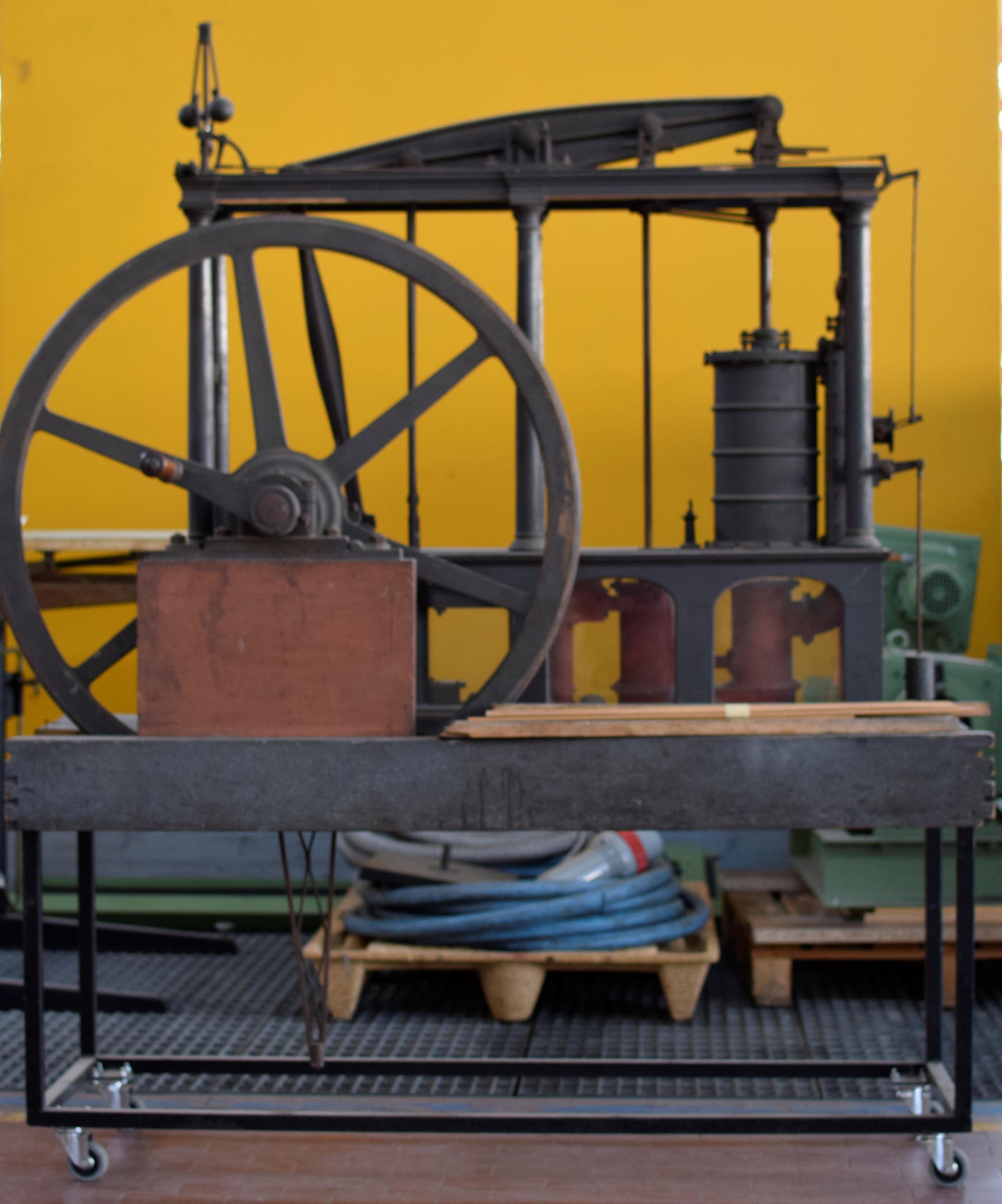 Modello di macchina a vapore di Schroeder