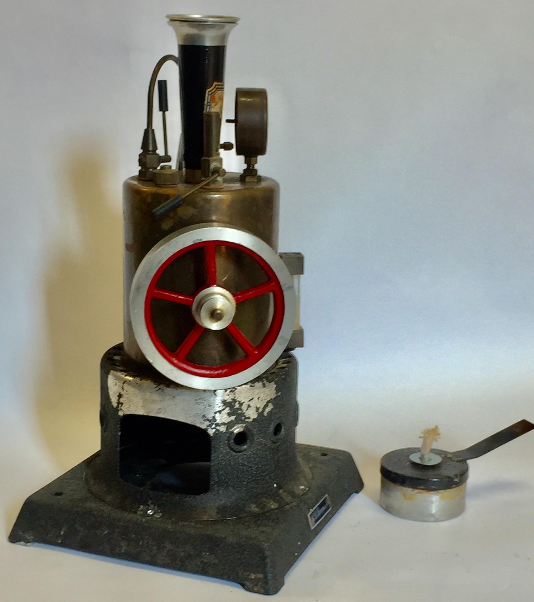 Modellino didattico di macchina a vapore