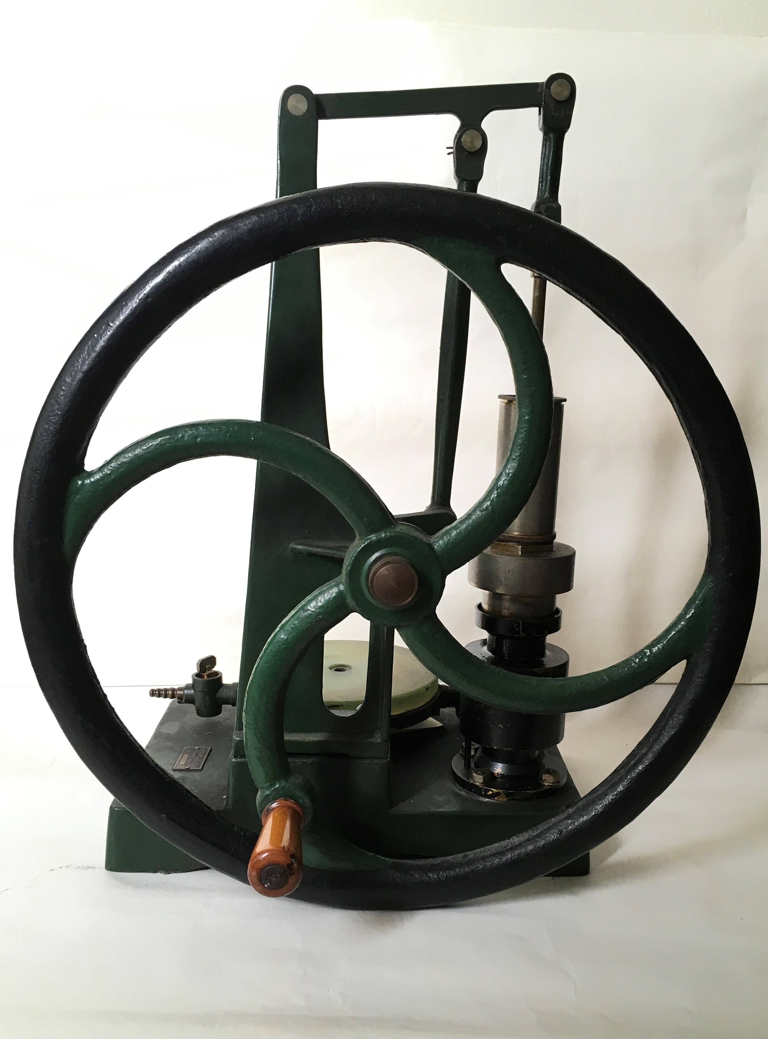 Pompa pneumatica ad olio di Fleuss