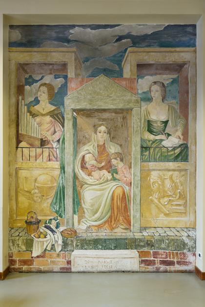 Dipinto - Esempi di virtù femminile - Gaspara Stampa, Elena Lucrezia Cornaro Piscopia, Cornelia