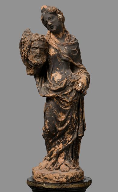 Statuetta - Giuditta con testa di Oloferne