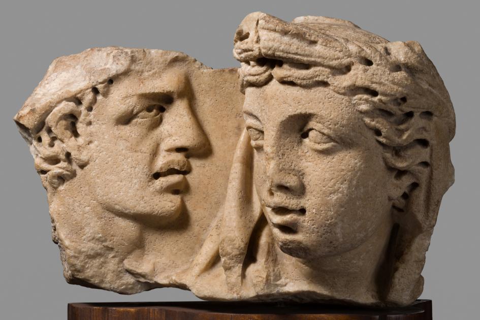 Sarcofago/ frammento - Mito di Kore-Proserpina
