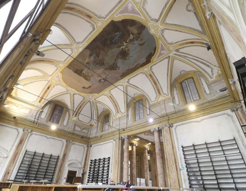 Palazzo Maldura, sala grande