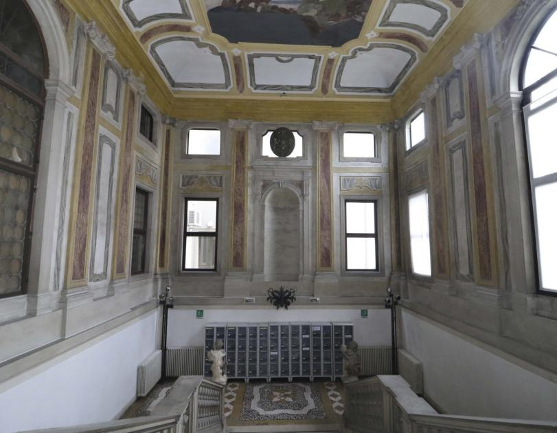 Palazzo Maldura, scala