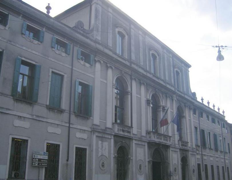 Palazzo Maldura, esterno