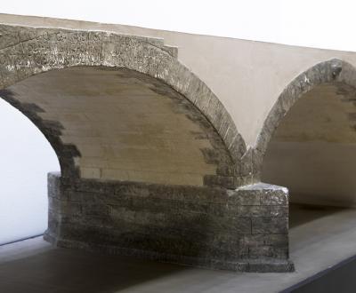 Modellino del Ponte romano di San Lorenzo a Padova