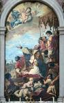 San Gregorio Papa invoca la Vergine per la cessazione della peste a Roma